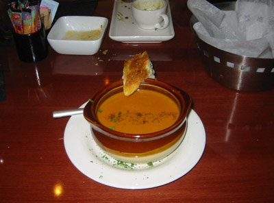 Bistro on main soup
