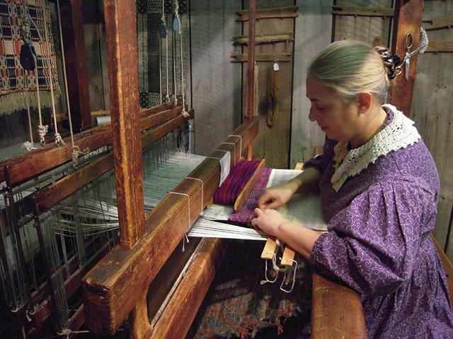 Visit the Costumed Artisans in the Living History Buildings at the Roscoe Village Apple Butter Stirrin' Festival.JPG