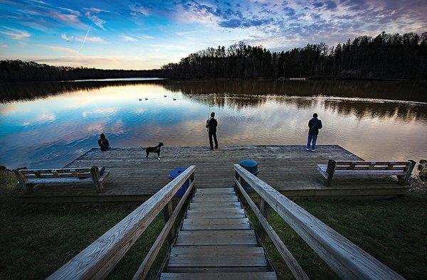 Hinckley Lake Sunset