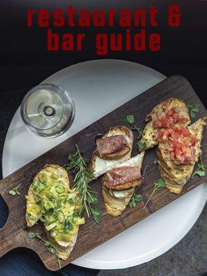 restaurant guide right rail