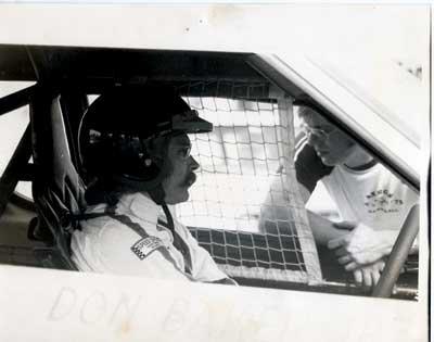 Don Baker Race car