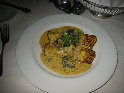 Harbor lobster crepe