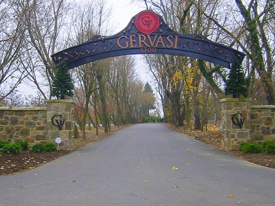 Gervasi entrance