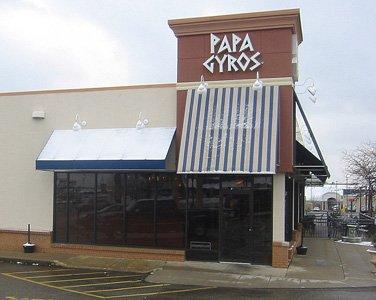 Papa Gyros exterior