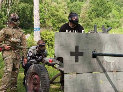 Shoot to Thrill Battle front Paintball
