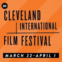 Film fest text logo orange