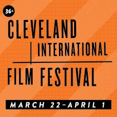 Film fest text logo orange