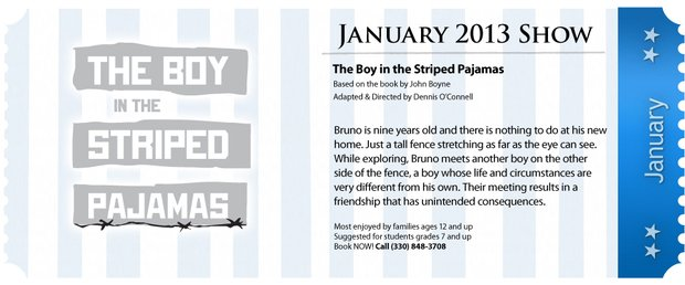 Magical Theatre To Present The Boy In The Striped Pajamas