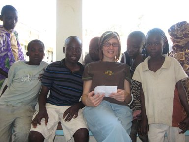 Several children who live near the clinic, including Billy who is sponsored by Dr. Sharon VanNostran, a family practice doctor at Summa.