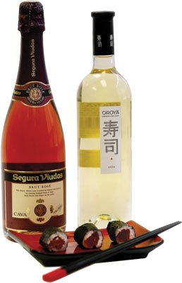 Oroya White and Sequra Viudas Brut Rose Wine