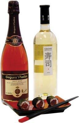 Oroya White and Sequra Viudas Brut Rose Wine