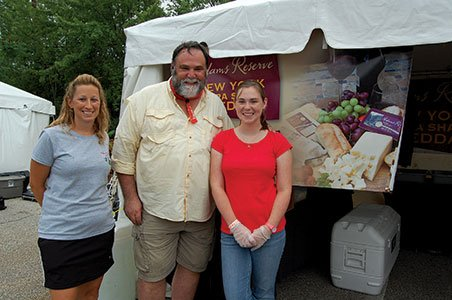 Photo-2---Debra-Sherman,-Mark-Mazur-and-Kelsey-Mazur-at-the-Adams-Reserve-booth.jpg