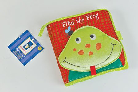 Find the Frog Baby Soft Book 6+ months