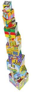Alphabet Nesting and Stacking Blocks 2+ years