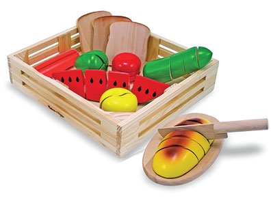 Cutting Food - Wooden Play Food 3+ years