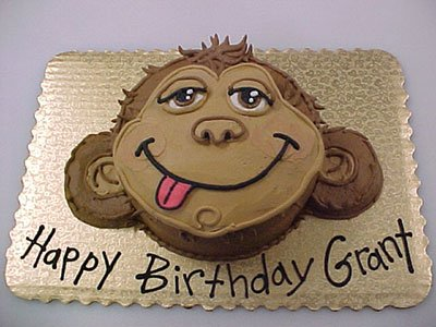 Monkey Face Cake