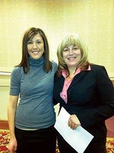 Jennifer-Knechtel-and-Lisa-Zaremba,-from-the-American-Diabetes-Association.jpg