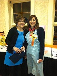 Sugartown-Express-committee-member-Christine-Krinsky-and-celebrity-server-Dr.-Linda-Sedlacek.jpg