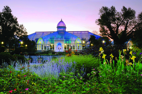 Illuminated Palm House at Franklin Park Conservatory and Botanical Gardens_6884.jpg