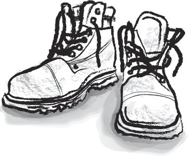 boots illustration for gamut