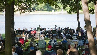 Music By the Lake