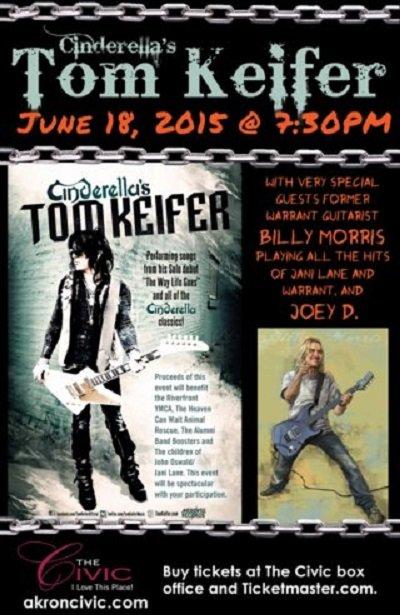 Akron Civic Event- Tom Keifer