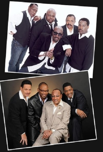 The Temptations and The Four Tops-Akron Civic Event