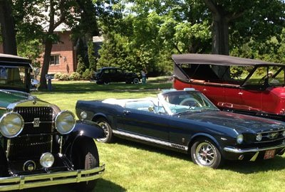 Stan Hywet Father's Day Car Show Event