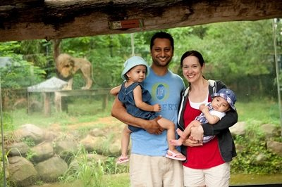 Dad's Day at the Zoo
