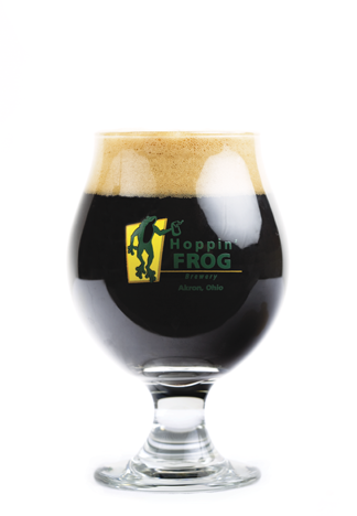 tulip glass hoppin frog stout.png