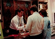 UNCLE DAMIAN & CUSTOMERS - BV OPENING 1983.jpg