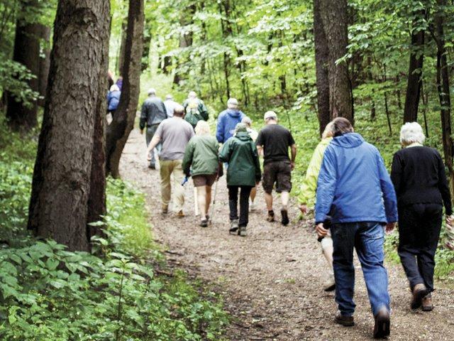 around town hiking club