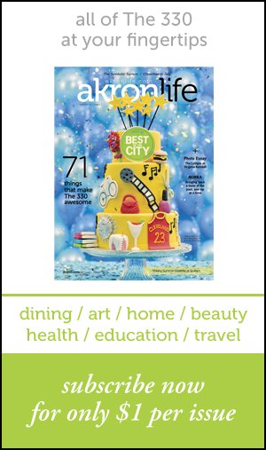 Subscribe to Akron Life Magazine $1