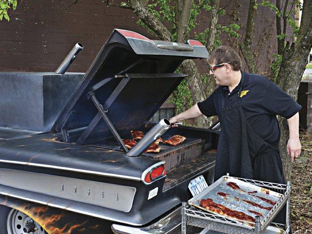 Ivan's BBQ Car