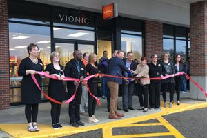 Vionic Ribbon cutting