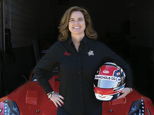 Trans Am Champion Amy Ruman