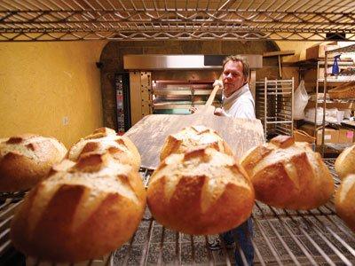 Bread maker at BreadSmith