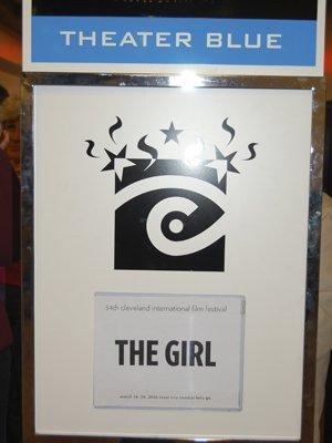 The Girl signage