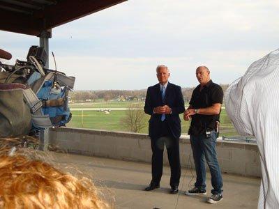 Mayor with Corbin Bernsen