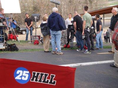 Starting line.25 Hill