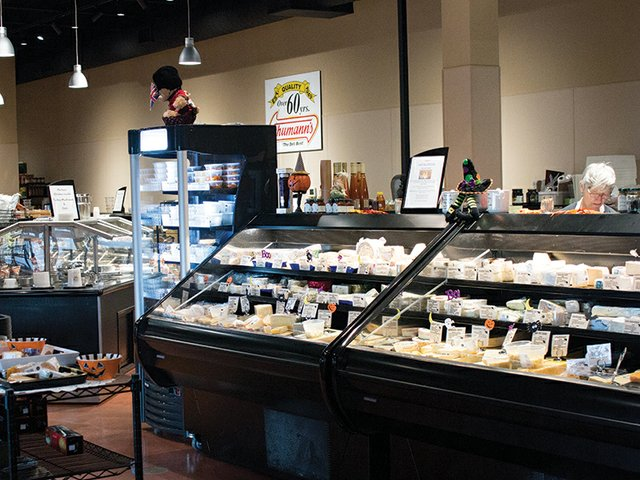 West Point Market cheese counter