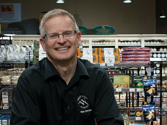 Rick Vernon of West Point Market