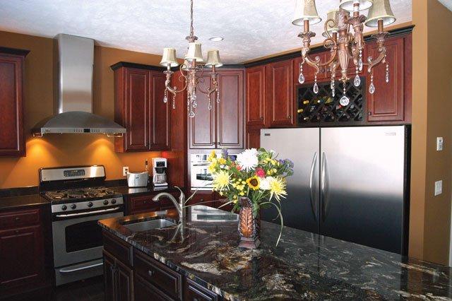 elegant oasis kitchen