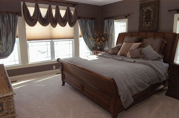 elegant oasis master bedroom