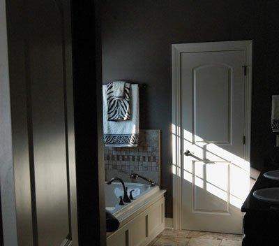 elegant oasis bathroom