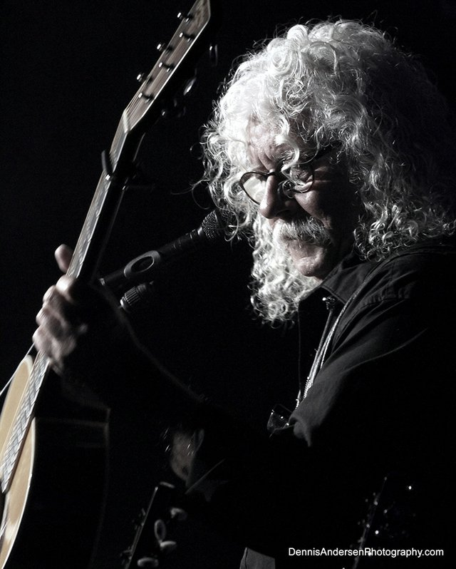 "11-1 Arlo Guthrie Resurrection of the 50th Anniversary of ""Alice's Restaurant"" Tour.JPG"