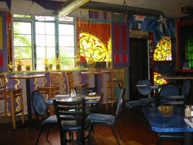 Chowder house window