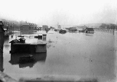 Kenmore flood 1913