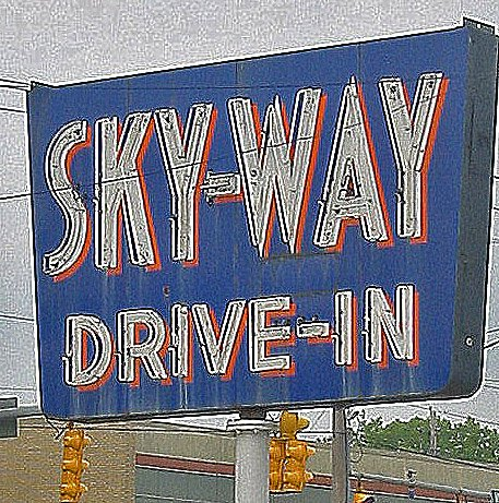 Skyway sign